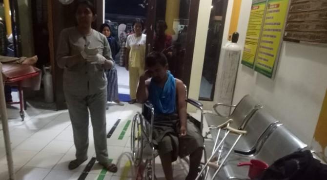 Penumpang Tranex yang mengalami luka-luka