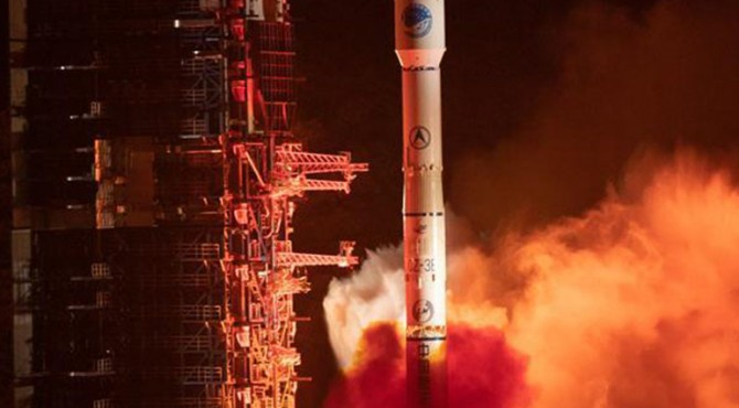 Cina mengirim satelit baru BeiDou Navigation Satellite System (BDS) ke luar angkasa dari Pusat Peluncuran Satelit Xichang di Provinsi Sichuan