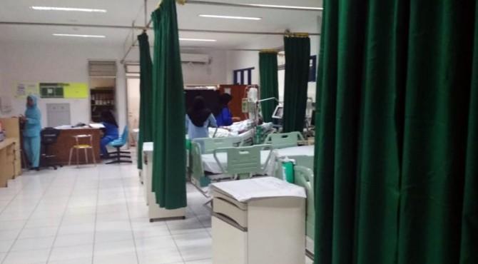 Korban dirawat di Rumah Sakit M Djamil Padang