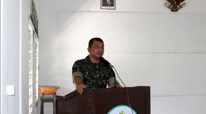 Komandan Kodim 0305 Pasaman Letkol Arm Cosmas Pramundhito