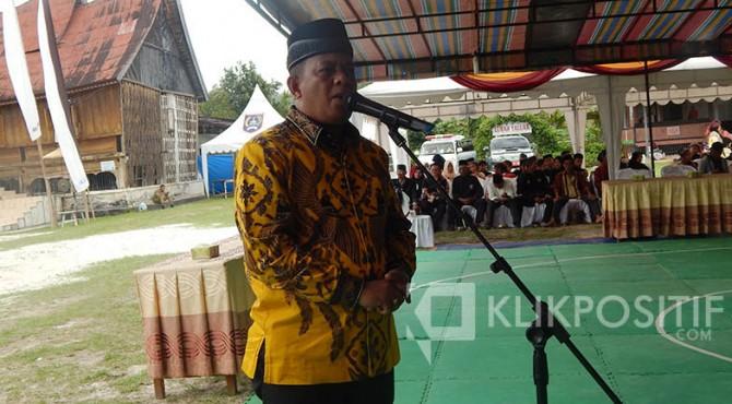 Ketua DPD Golkar Kota Payakumbuh, YB Dt Parmato Alam.
