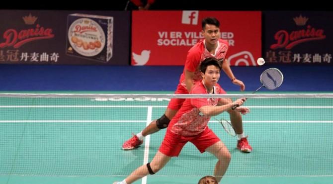 Ganda campuran nomor satu dunia dari Indonesia berlaga di Denmark Open 2017.
