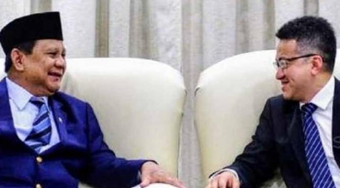 Menhan RI Prabowo Subianto bertemu dengan Menteri Pertahanan (Menhan) Malaysia Mohammad bin Sabu