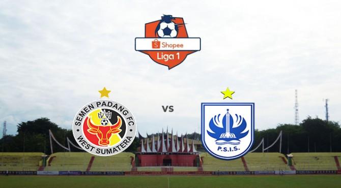 Semen Padang FC kontra PSIS Semarang