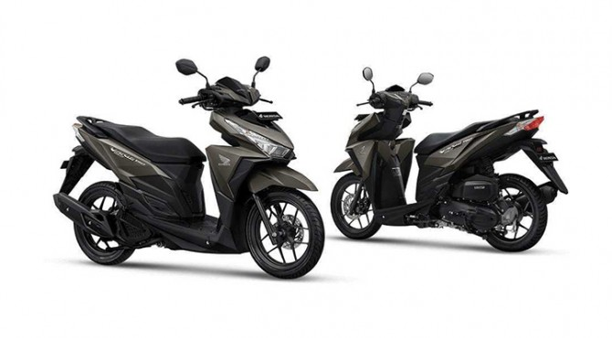 Honda Balut Vario 150 Dengan Warna Baru