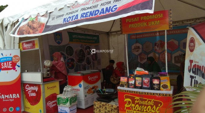 Stand Randang pada kegiatan HKG PPK ke 47 di Padang