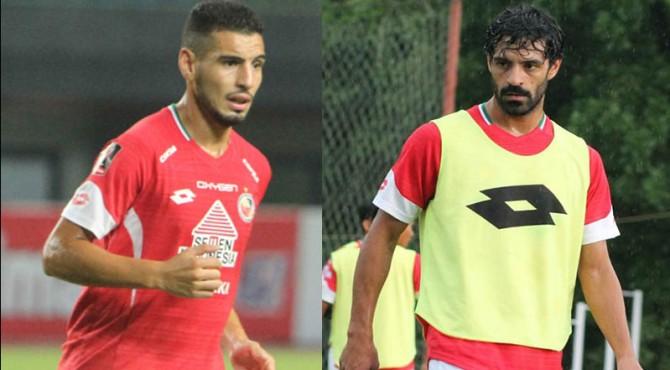 Mario Barcia dan Jose Sardon resmi dilepas Semen Padang FC.