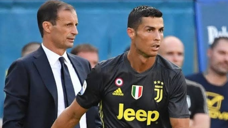 Allegri dan Ronaldo