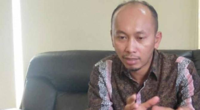 Ketua DPRD Kabupaten Pesisir Selatan, Dedi Rahmanto Putra