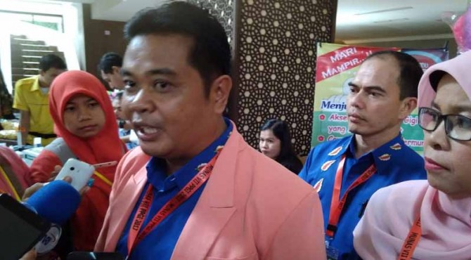 Ketua Panitia Persatuan Perawatan Gigi Indonesia Yannurdin SKM. MSc
