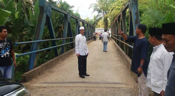 Bupati Pessel menggelar Safari Ramadan ke Silaut.