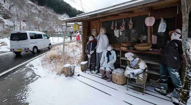 Desa boneka Nagoro di Jepang