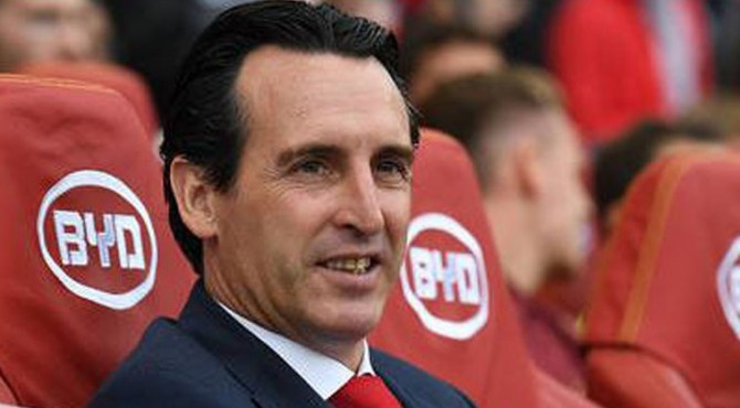 Manajer Arsenal, Unai Emery