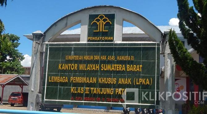 LPKA Klas II Tanjung Pati.