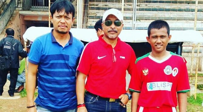 Fajra Bersama Pelatih Timnas U-16 dan Pelatih Blue City