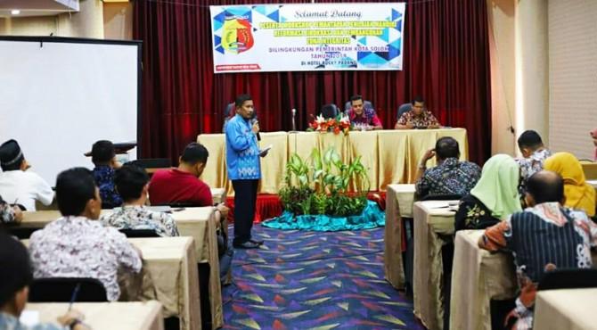 Sekda Kota Solok, Rusdianto buka Workshop PMP-RB bagi OPD di lingkungan Pemko Solok