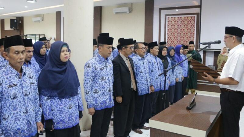 Walikota Lantik 82 Pejabat