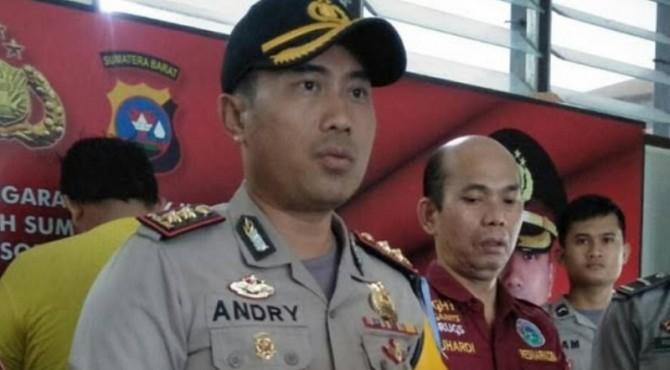 Kapolres Pariaman AKBP Andry Kurniawan