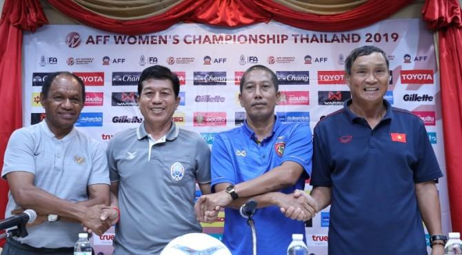 Konferensi Pers sebelum AFF Women Championship 2019