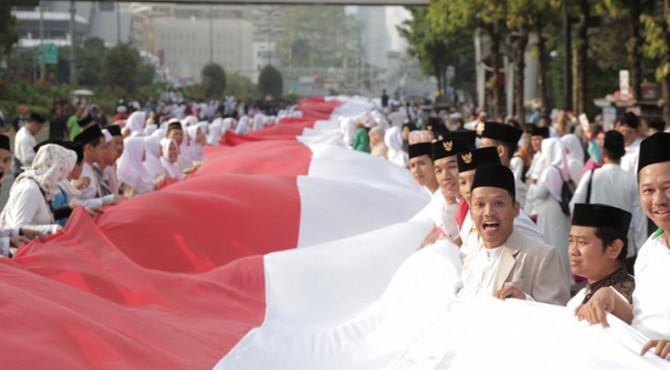 Parade santri cinta damai