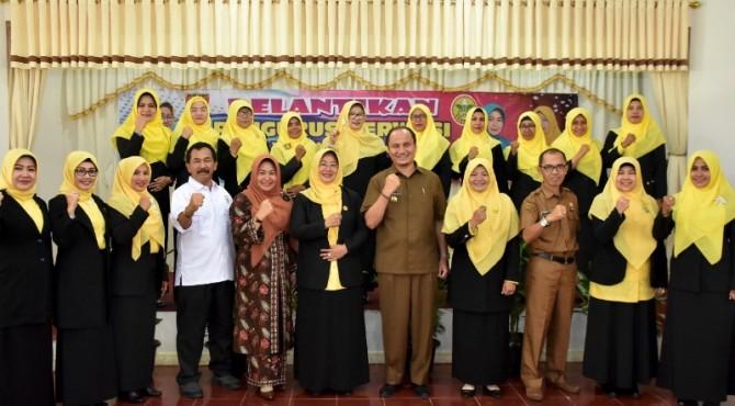 Pengurus Perwosi Agam periode 2019-2024