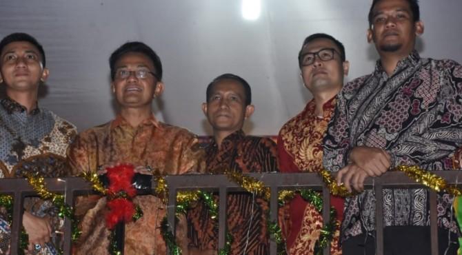 Bupati Agam Indra Catri melaunching pemilihan serentak 2020