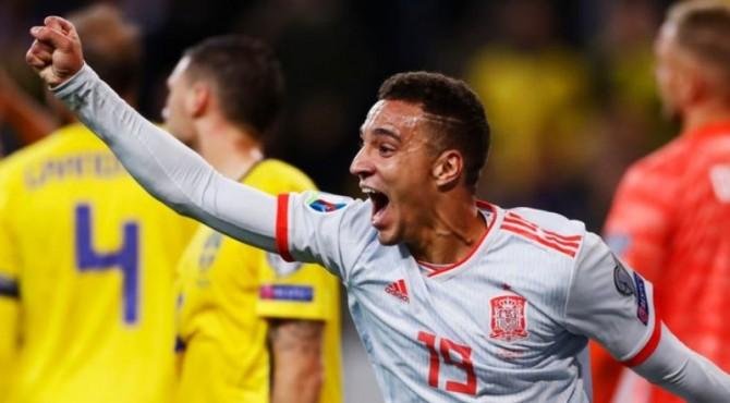 Gol Rodrigo pada menit ke-90+2 membatalkan kemenangan Swedia
