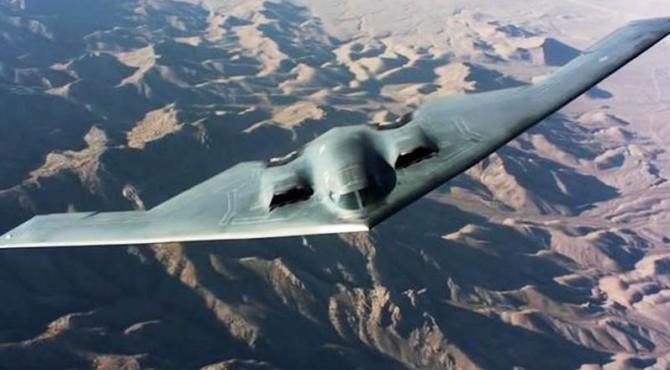 Pesawat Siluman milik Amerika Serikat