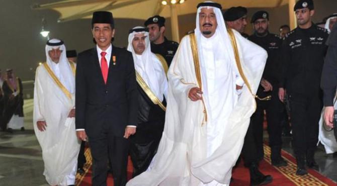 Kunjungan Jokowi ke Arab Saudi.