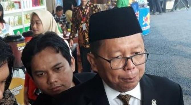 Arsul Sani, Sekjen PPP saat dijumpai di Gedung MPR