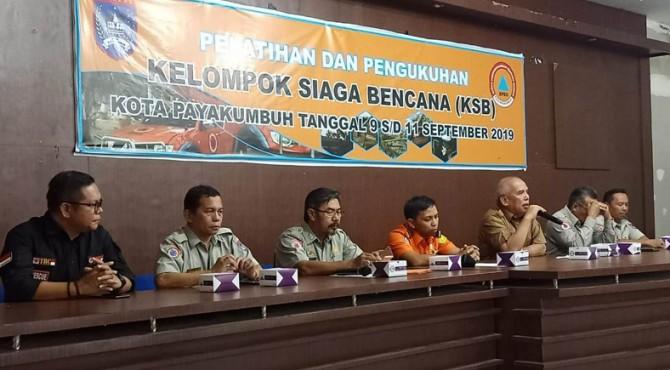 Pengukuhan dan pelatihan KSB Kota Payakumbuh.