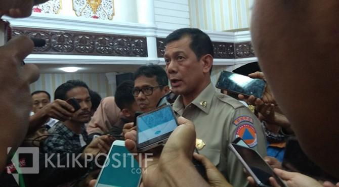 Kepala BNPB, Letnan Jenderal TNI Doni Monardo
