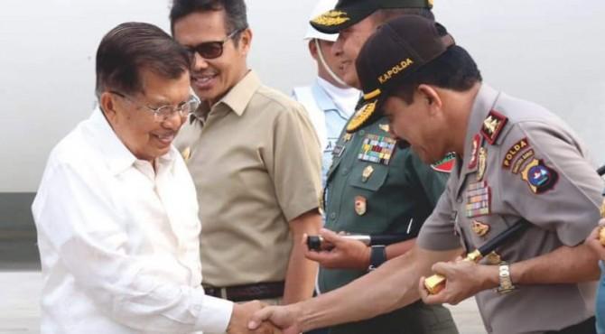 Wapres Jusuf Kalla di Padang