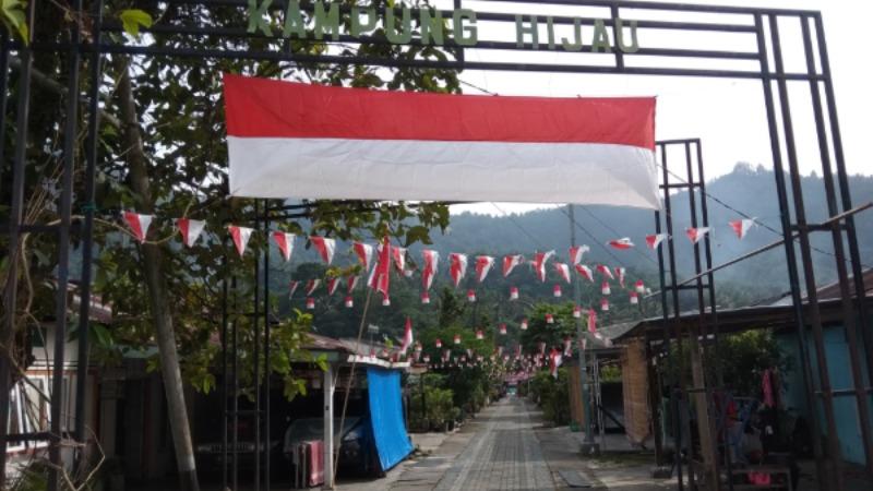 Lingkungan Warga di Kelurahan Tanah Lapang, Kecamatan Lembah Segar, Kota Sawahlunto