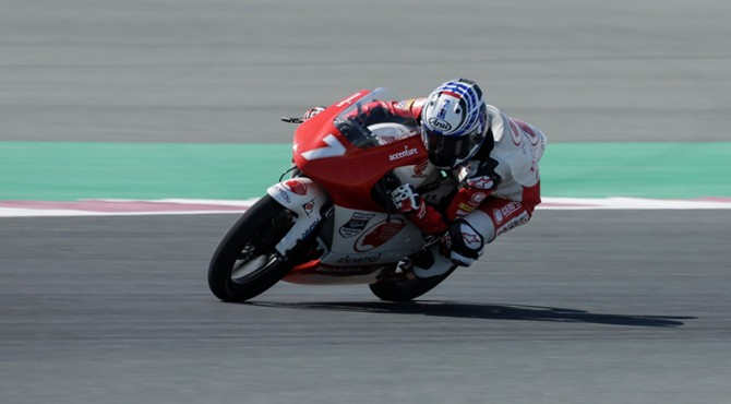Pembalap Astra Honda Racing Team di ajang Asia Talent Cup