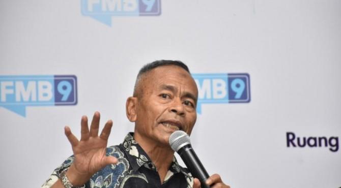 Ketua Persatuan Wartawan Indonesia (PWI) Pusat Atal S Depari