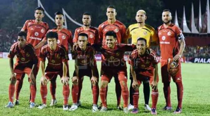 Tim Semen Padang FC di Piala Presiden