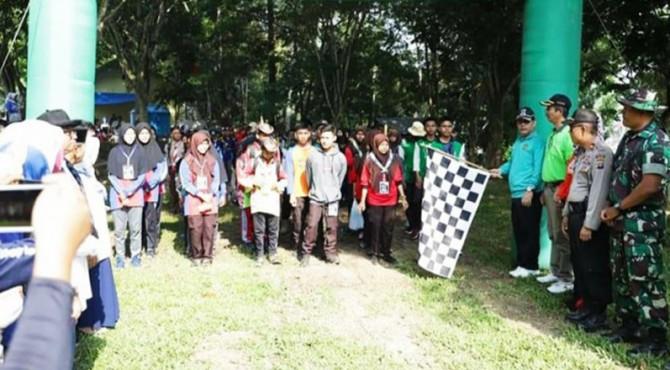Wawako Solok, Reinier melepas peserta Basikincah Alam Bareh Solok 2019