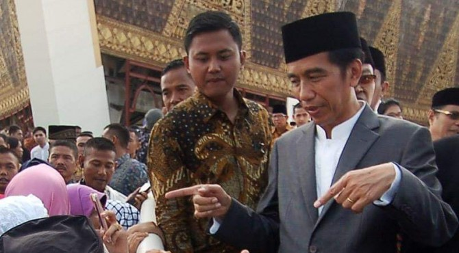 Jokowi di Sumbar