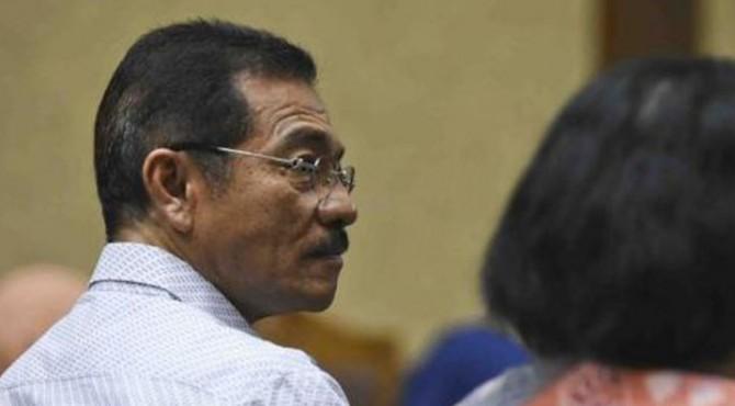 Mantan Mendagri Gamawan Fauzi menjadi saksi dalam sidang kasus korupsi pengadaan e-KTP dengan terdakwa Setya Novanto di Pengadilan Tipikor Jakarta, Senin (29/1).