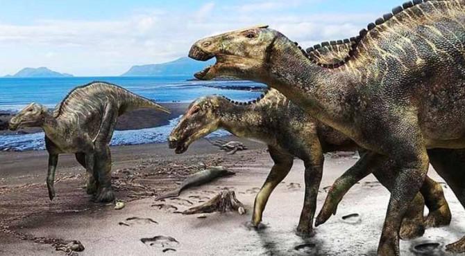 ilustrasi Kamuysaurus