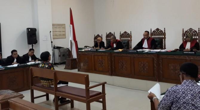 Sidang Mangrove di Pengadilan Negeri (PN) 1 A Padang