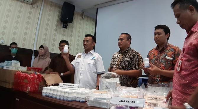 Barang siataan BBPOM Padang