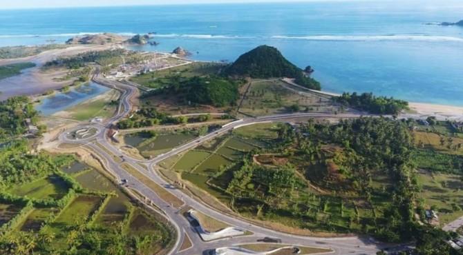 Mandalika, lokasi penyelenggaraan balapan MotoGP di Indonesia