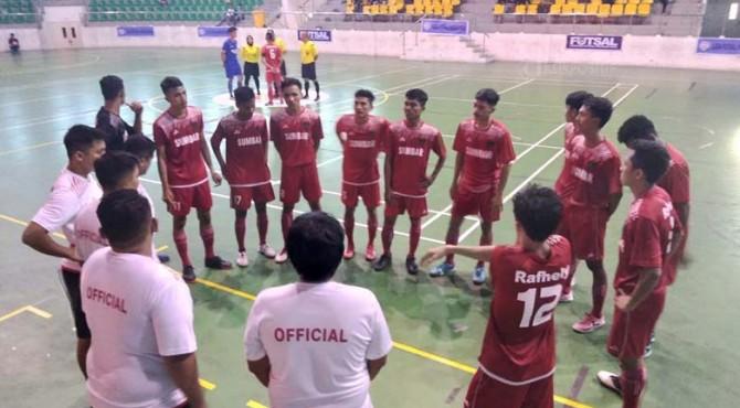 Futsal Tuah Sakato Sumbar wakili Sumbar di Liga Nusantara Futsal Babak 34 Besar Nasional.