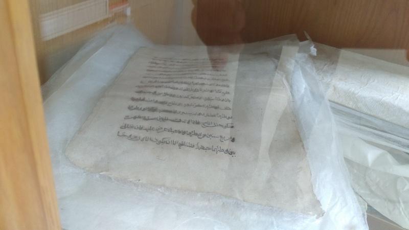 Nasko kuno yang belum diterjemahkan di Kantor Arsip Sumbar