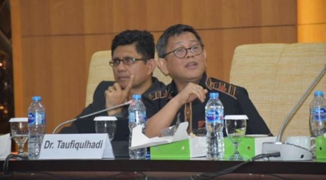 Anggota Komisi III DPR, Taufiqulhadi.