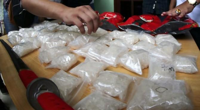 ilustrasi barang bukti narkoba