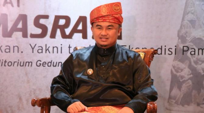 Bupati Kabupaten Dharmasraya, Sutan Riska Tuanku Kerajaan