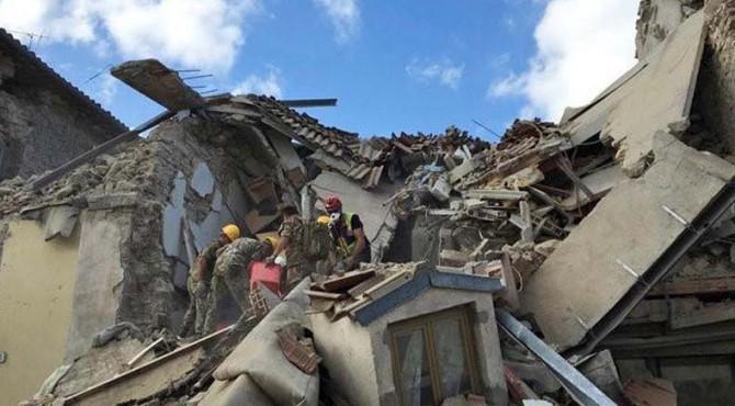 Gempa di Italia